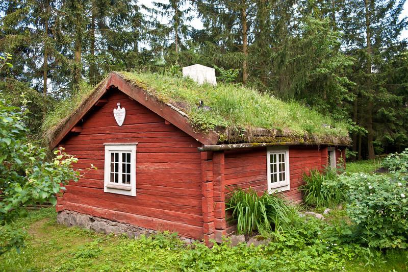 Soldiers Cottage, circa 1800's, Skansen, Stockholm