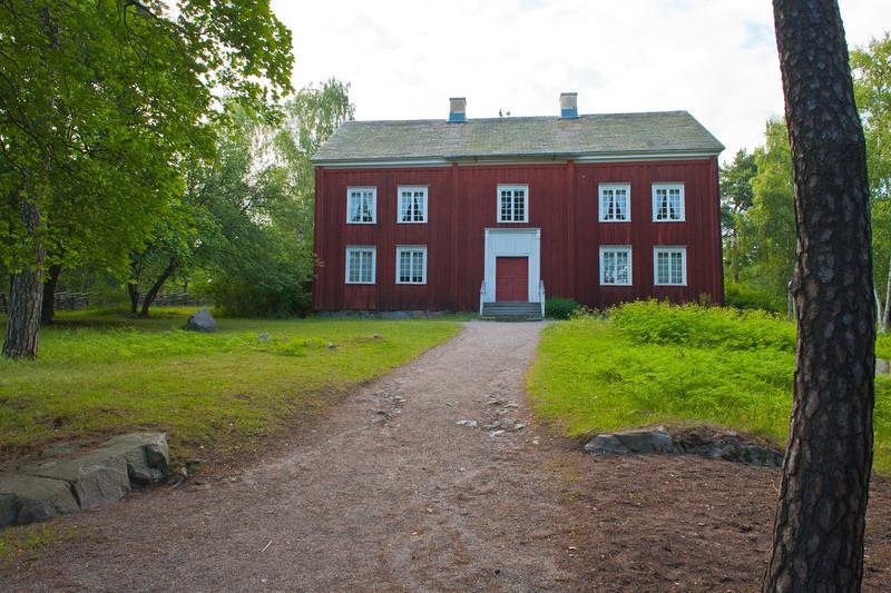 Eksharad Farmhouse - circa 19th century, Skansen, Stockholm