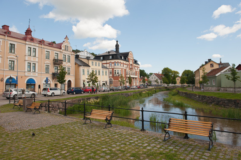 Soderkoping Sweden, on the Gota Kanal