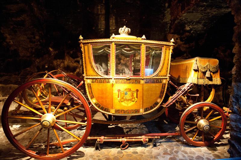 Coronation Coach, Circa 1800's , Royal Armoury, Stockholm