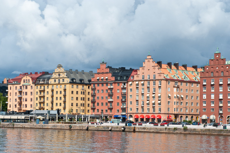 Typical waterfront Apartments, Stockholm