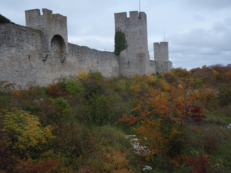 The old wall at Visby