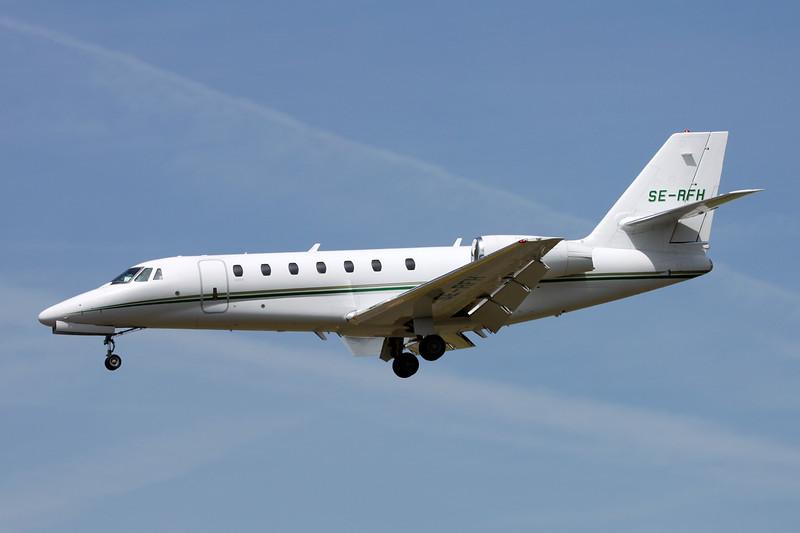 SE-RFH Cessna 680 Citation Sovereign c/n 680-0059 Paris-Le Bourget/LFPB/LBG 10-07-16