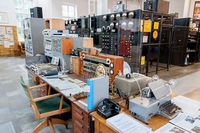 Inside Varberg Radio Station in Grimeton, Sweden