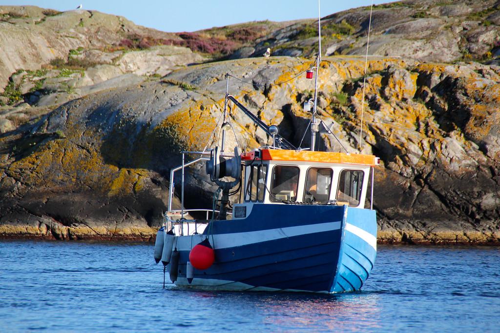 Fishing Boat - Weather Islands, Sweden - Photo