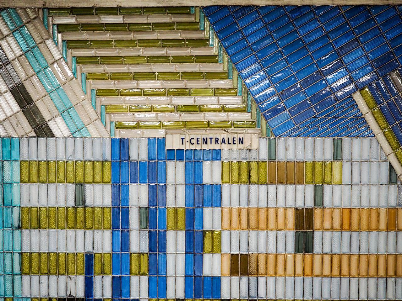 T-centralen metro station in Stockholm