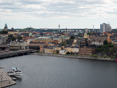Stockholm from City Hall Tower