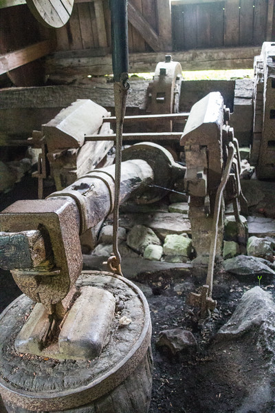 A Water Driven Hammer at the Wira Bruk Forge (©simon@myeclecticimages.com)