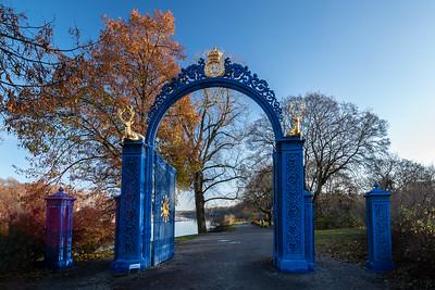 Bla porten blue gate