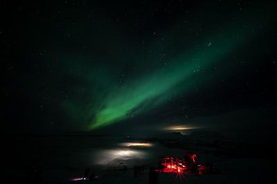 D Aurora Borealis Abisko