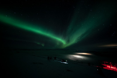 B Aurora Borealis Abisko Sky Station