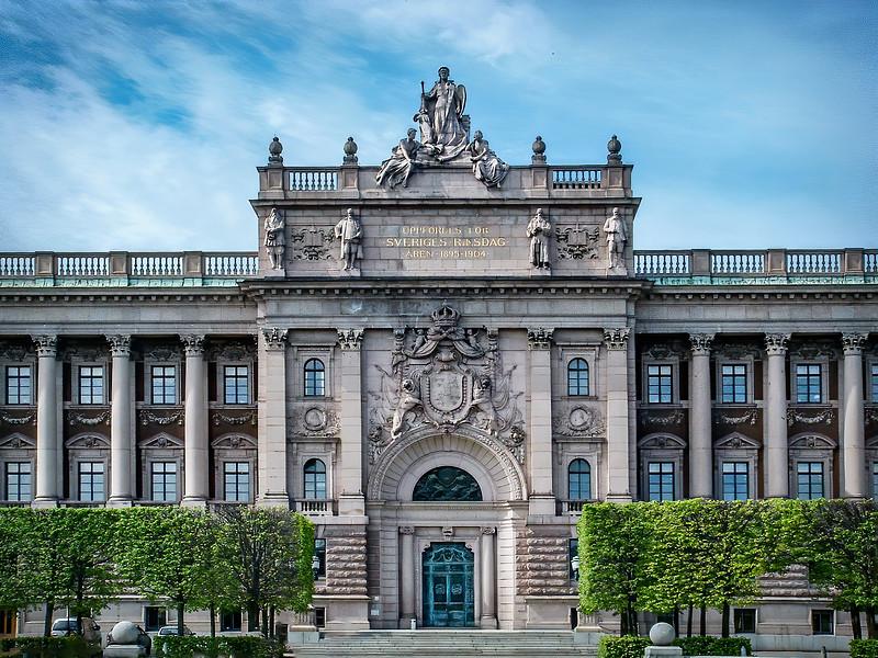 Stockholm - Parliament House
