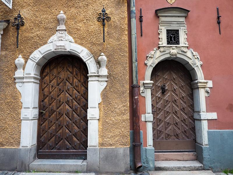 Gamla Stan doors