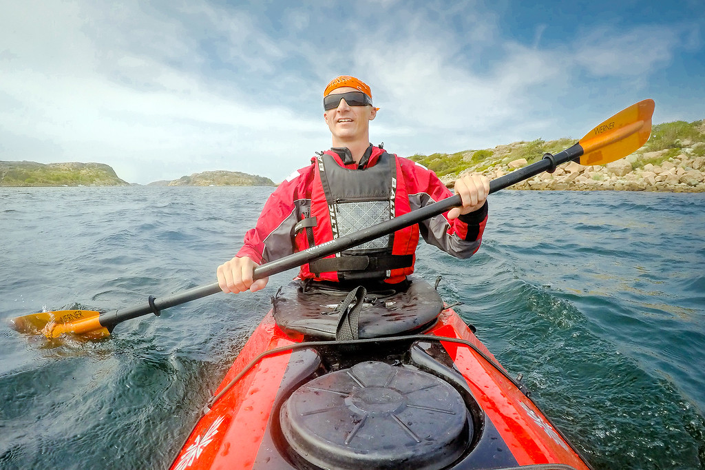 Kayaking Islands Sweden
