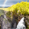 Hällingsåfallet waterfall