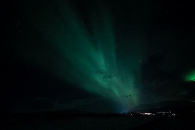 BB Aurora Borealis outside Abisko