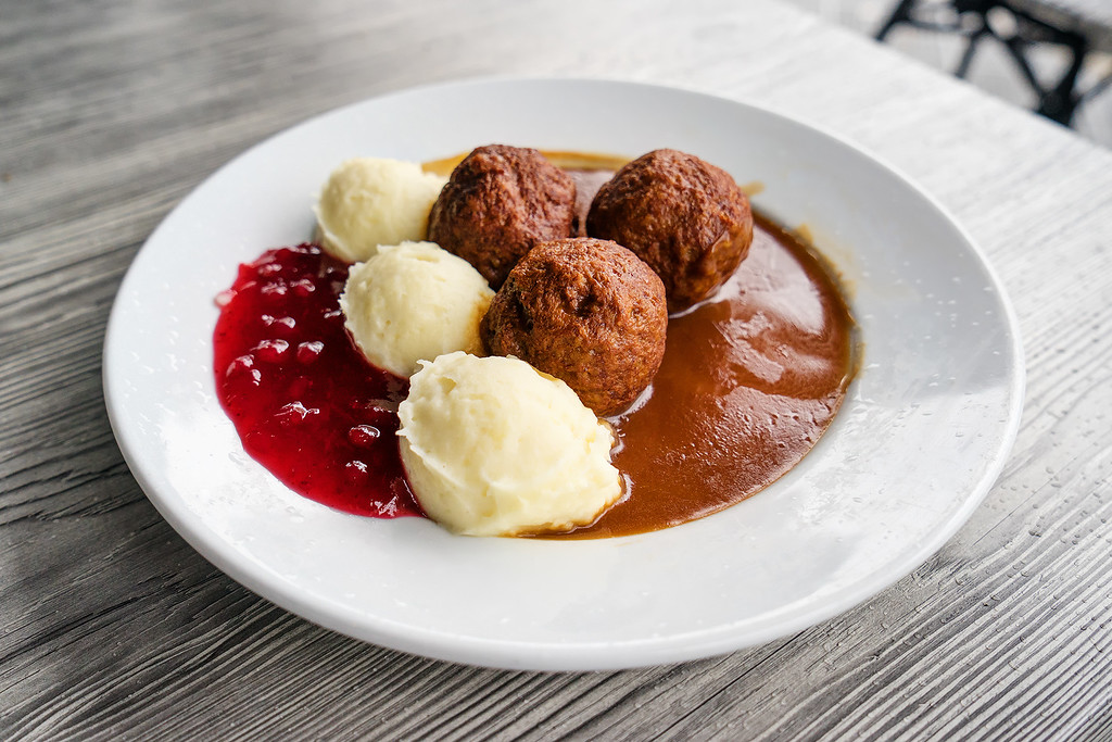 Meatballs in Sweden