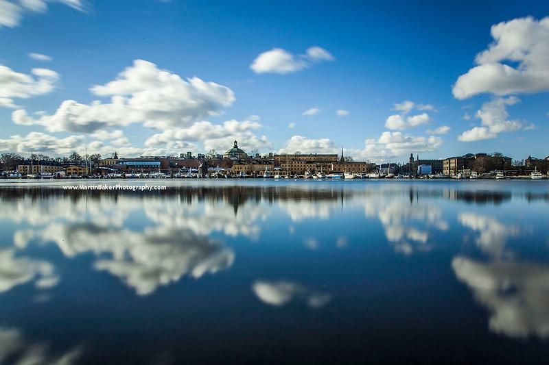Lake Mälaren, Stockholm, Sweden.