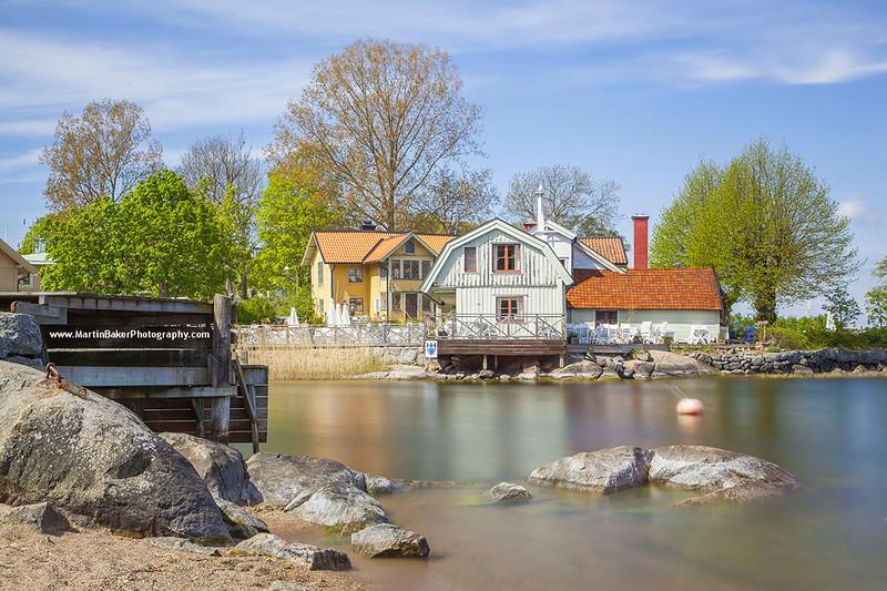Waxholm, Stockholm Archipelago, Stockholm, Sweden.