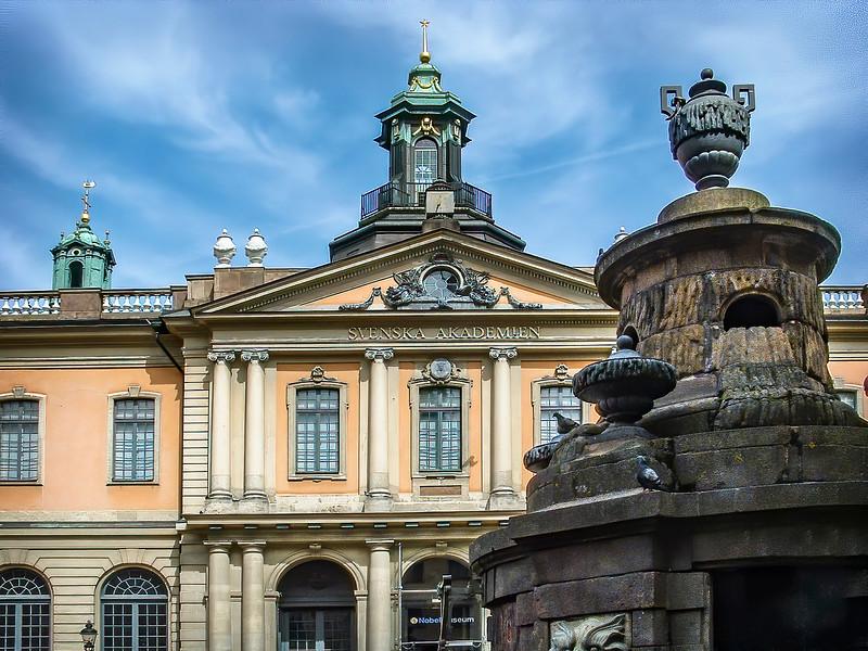 Stockholm - Gamla Stan - Nobel Library