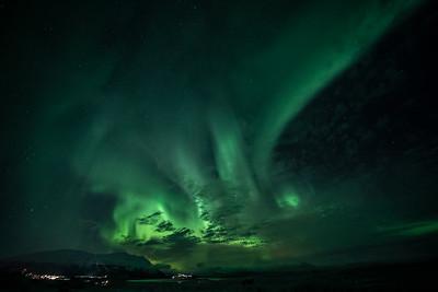 CC Aurora Borealis outside Abisko