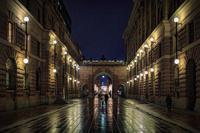 A walk through Stockholm