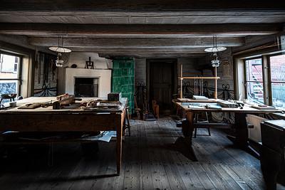 bookbinder shop Skansen