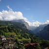 The town of Wengen does not look like a bad place to live. I asked around about jobs while I was there...I think it would be a heck of a place to spend a few months!