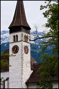 Church, Interlaken