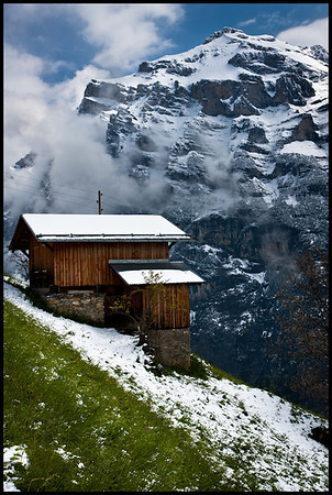 Above Gimmelwald