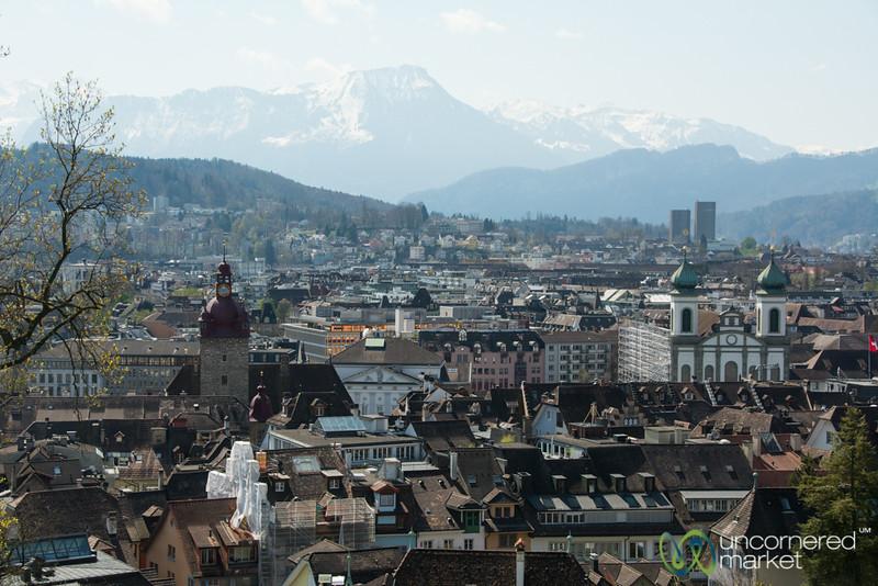 Lucerne City View - Switzerland