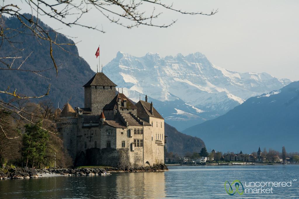 Chateau Chillon - Montreux, Switzerland
