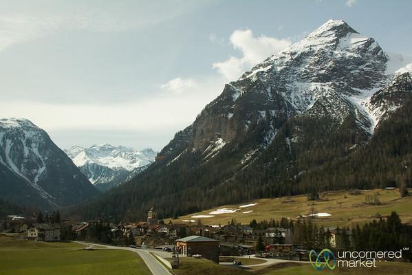 Filisur Village, Bernina Express Train Views - Switzerland
