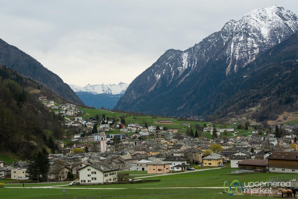 Poschiavo, Little Town on Edge of Switzerland