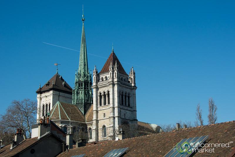 Geneva's St. Pierre's Cathedral - Switzerland