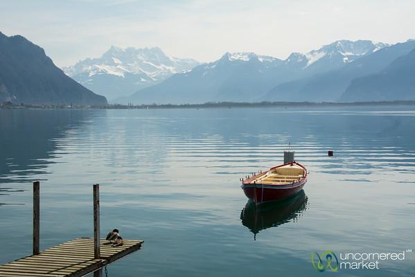 Lake Geneva Still Life - Montereux, Switzerland
