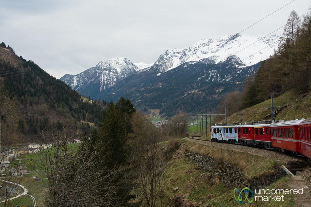 Bernina Express, en route to Poschiavo - Switzerland