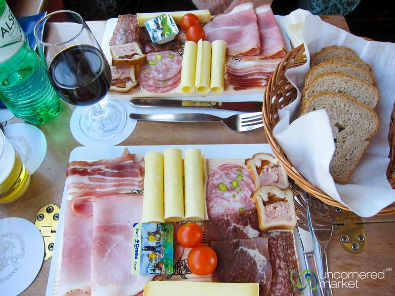 GoldenPass Classic Meat Platter - Montreux, Switzerland