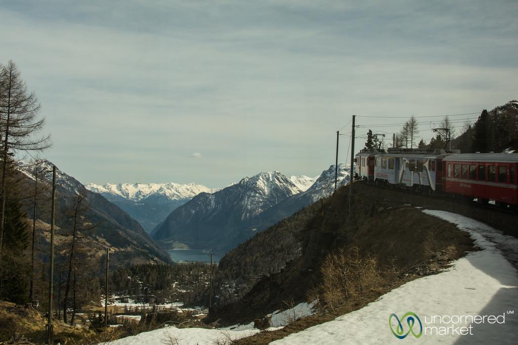 Bernina Express Around the Mountain - Switzerland