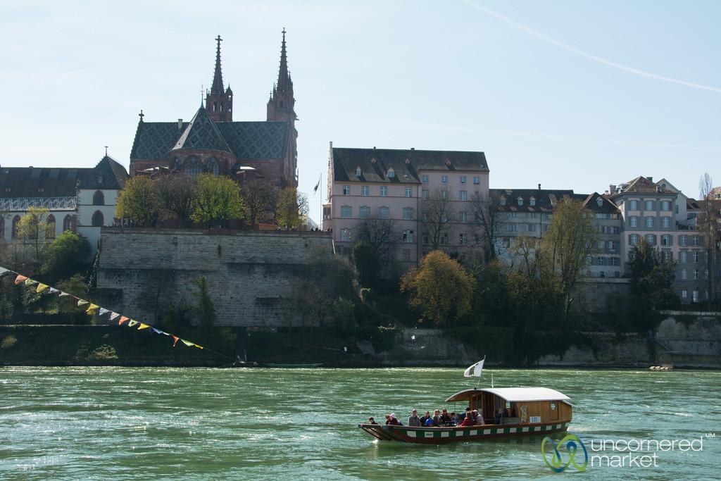 Taking the Boat Across the Rhine - Basel, Switzerland