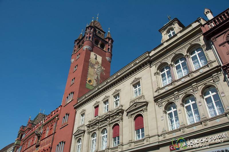Basel's Town Hall - Switzerland
