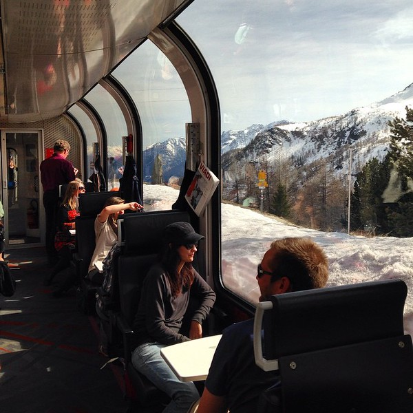 Bernina Express - Chur to Tirano, Switzerland