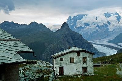 Trail from Schwarzsee to Zermatt