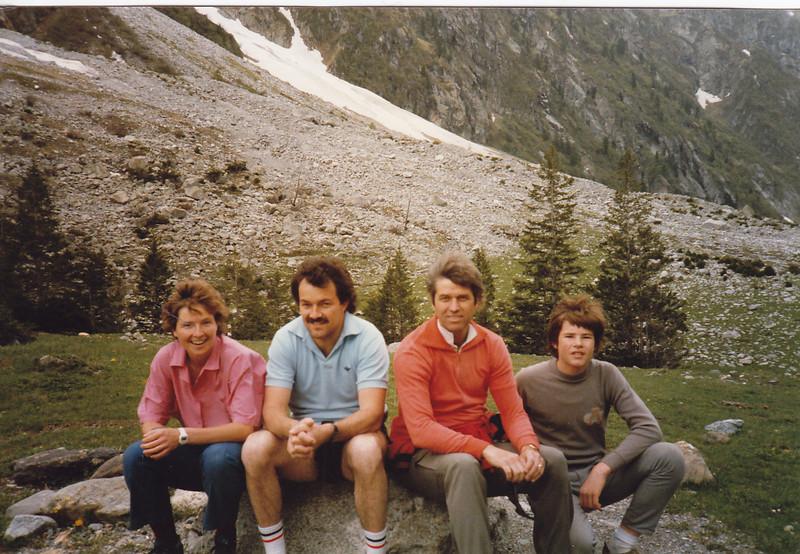 Barbara, Hans Peter, Bruce, Armin