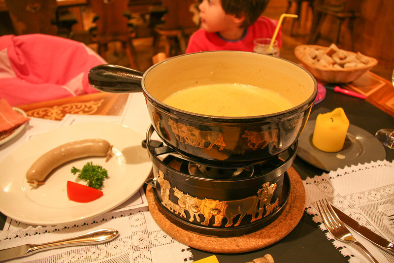 Try some fondue while you are there.  Ours was a little too strong for our tastes though.