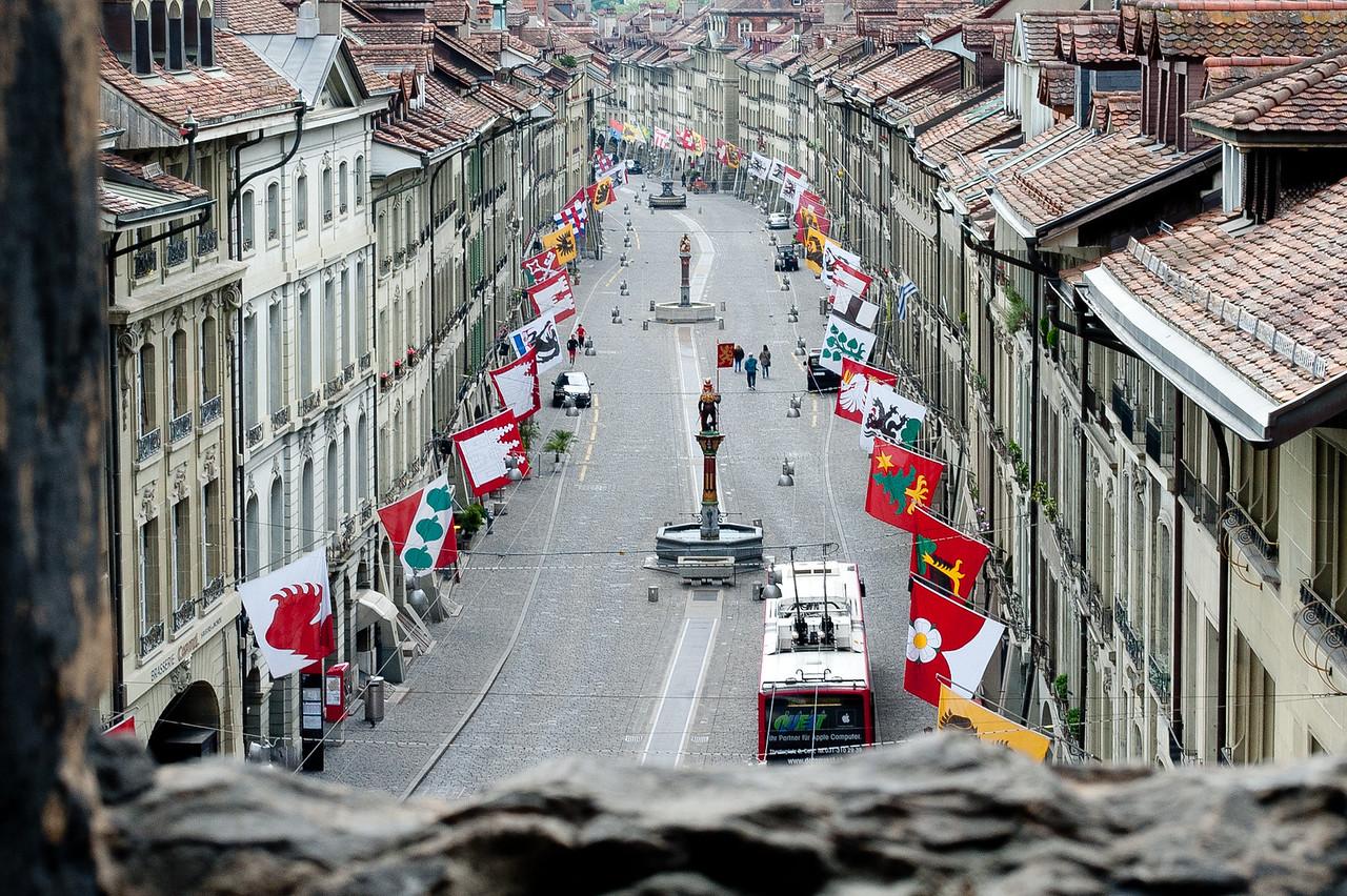 View from the Zytglogge - Bern, Switzerland