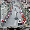The Streets of Bern,                                       Switzerland, from Above