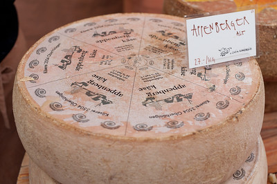 Close-up of cheese in Bern, Switzerland