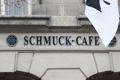 Name of a cafe in Bern, Switzerland