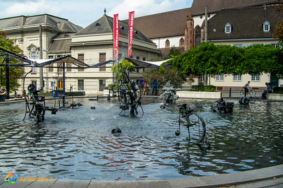Stravinsky Fountain